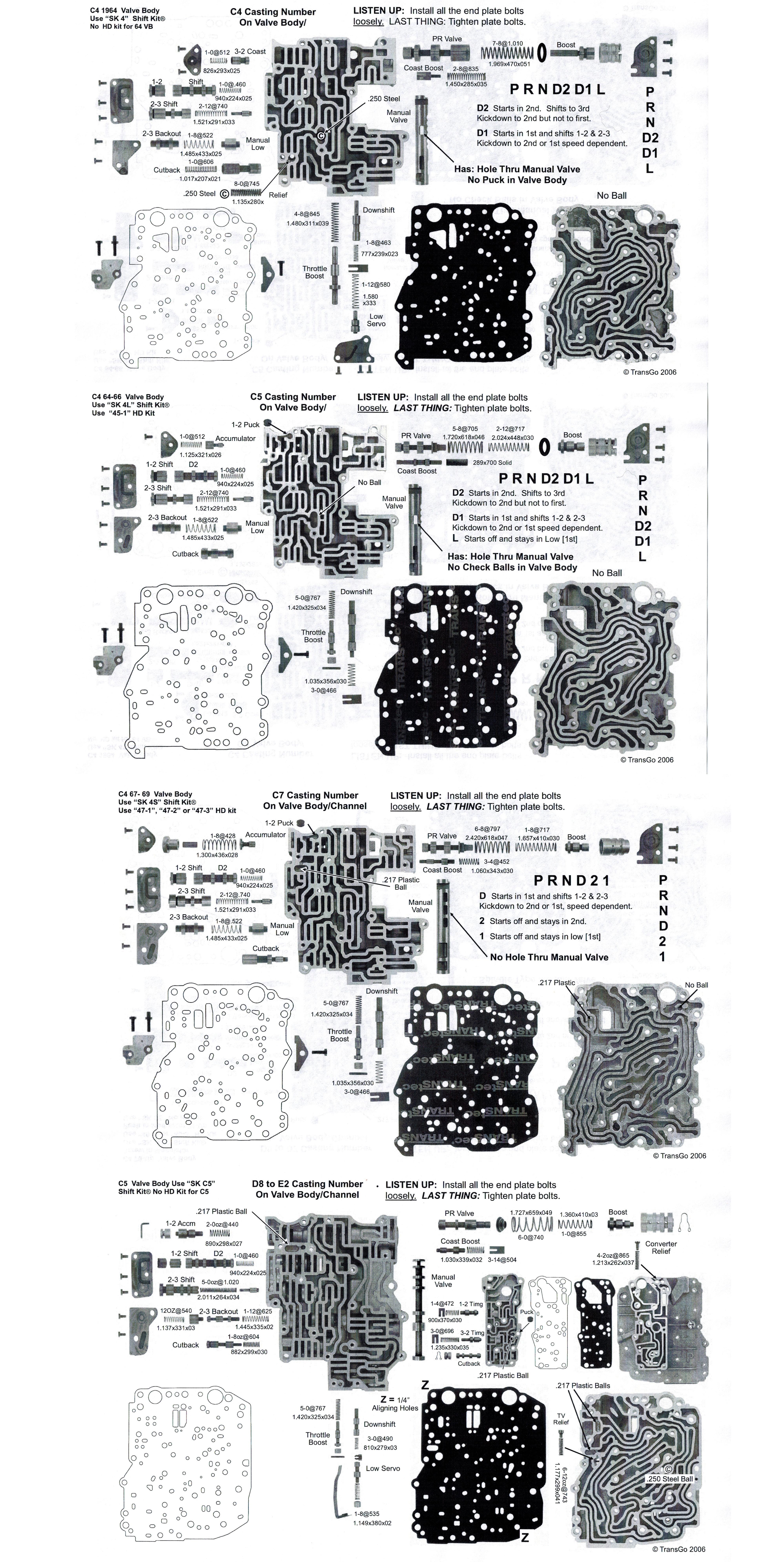 ford c4 c5 transgo shift kit sk c5 t26165f. Black Bedroom Furniture Sets. Home Design Ideas