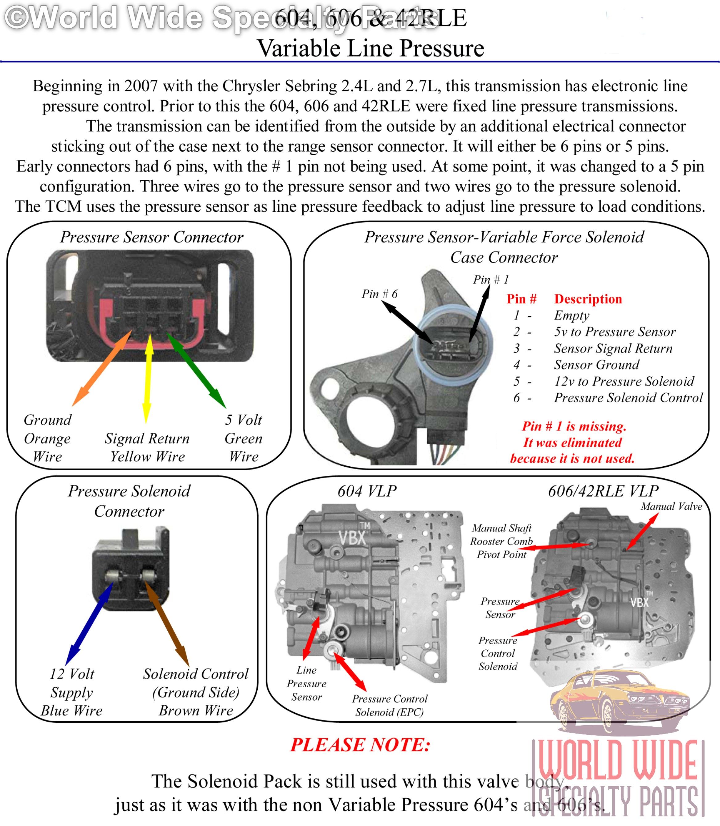 chrysler 42rle,a606 valve body 2003-up(lifetime warranty ... ford automatic transmission wiring diagram #8