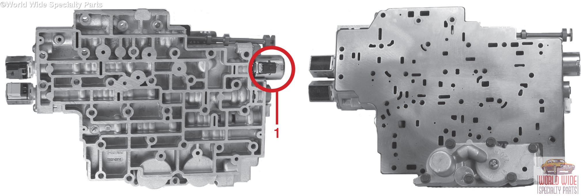 Gm 4l80e Valve Body 2004 Up 1 Year Warranty Sonnax Updated And Ford Starter Solenoid Wiring Diagram Besides 1950 Chevy Models Use The Silver Holley Epc With A Molded Connector In Above Photo You Can See