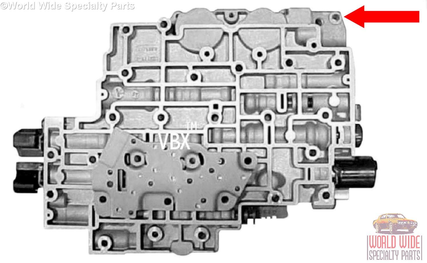 4L80E REBUILT   Valve Body  FITS 93/' Up