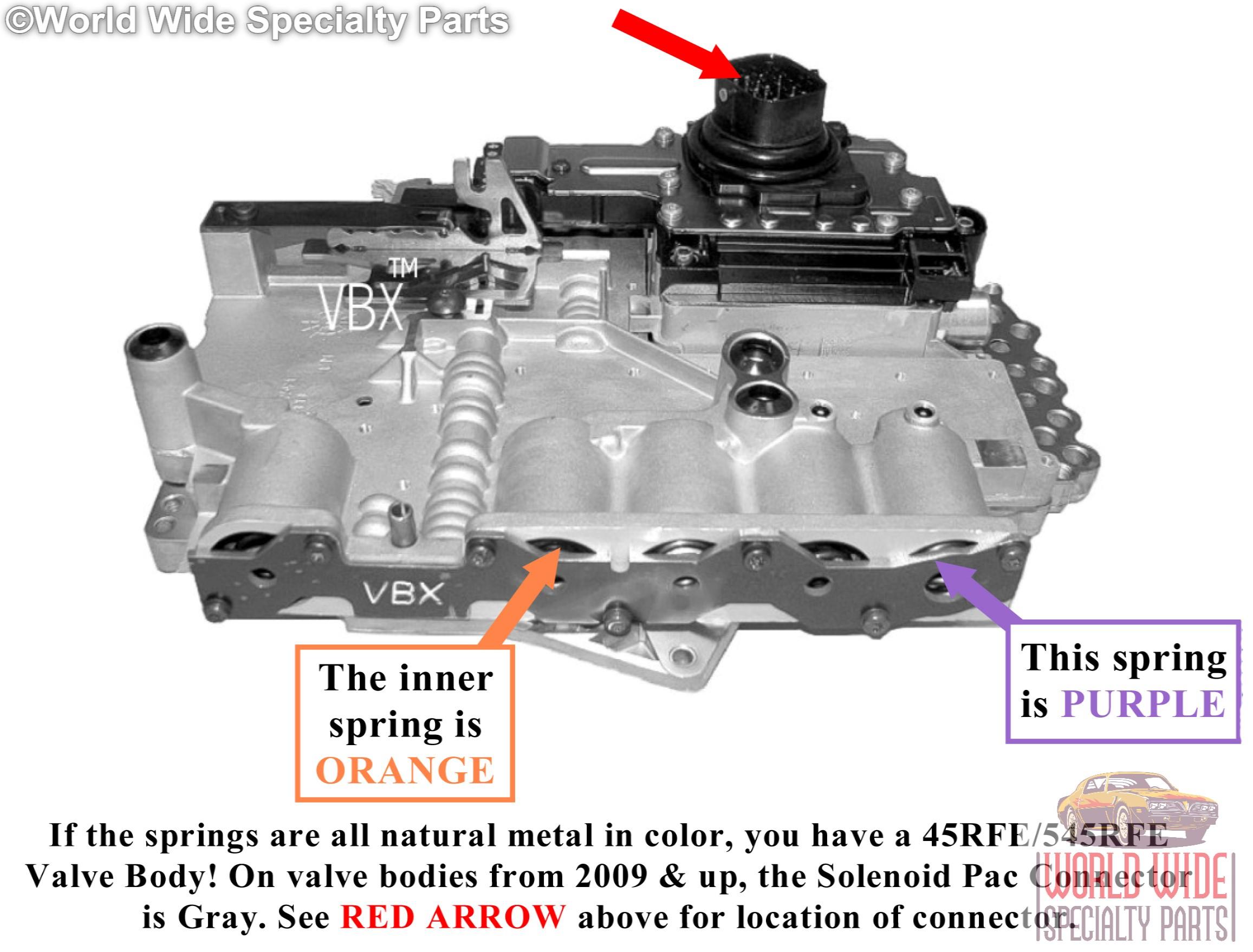 dodge 65rfe 66rfe 68rfe valve body rebuild service 2009 up rh ebay com