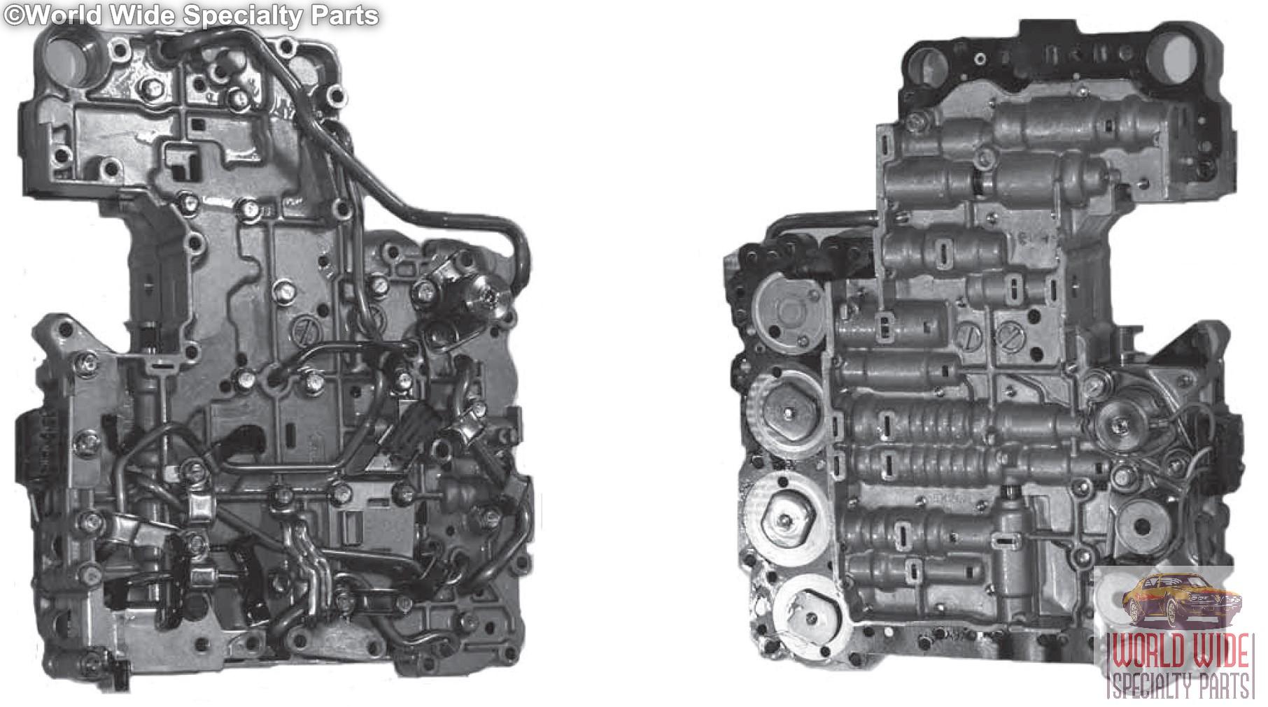 allison transmission manual valve body